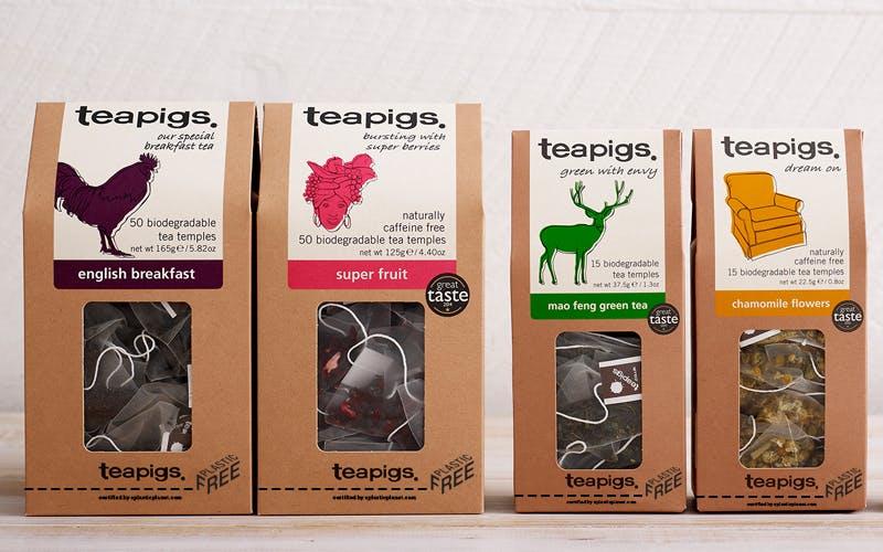 Teapigs plastic free