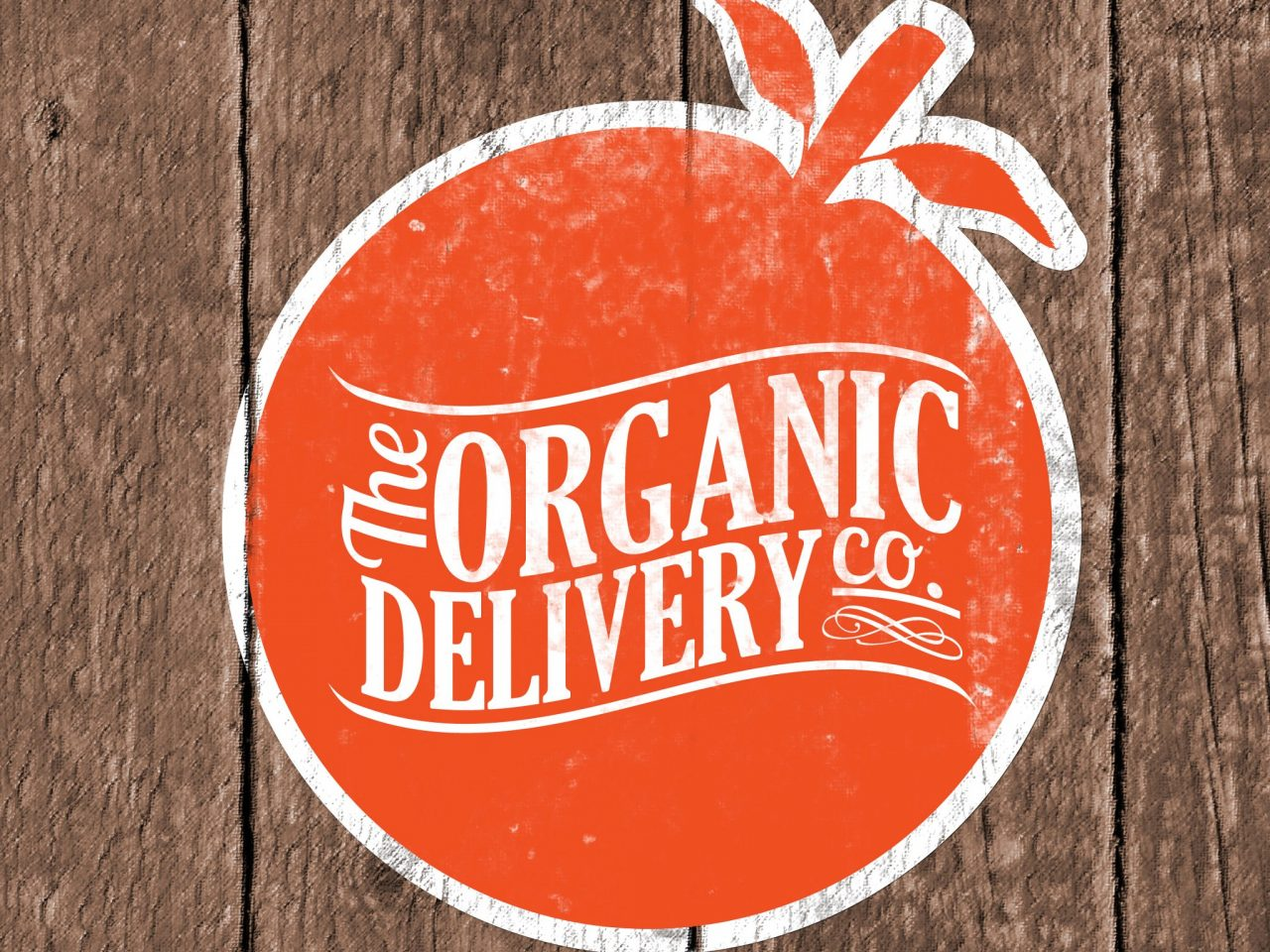 Organic delivery company logo